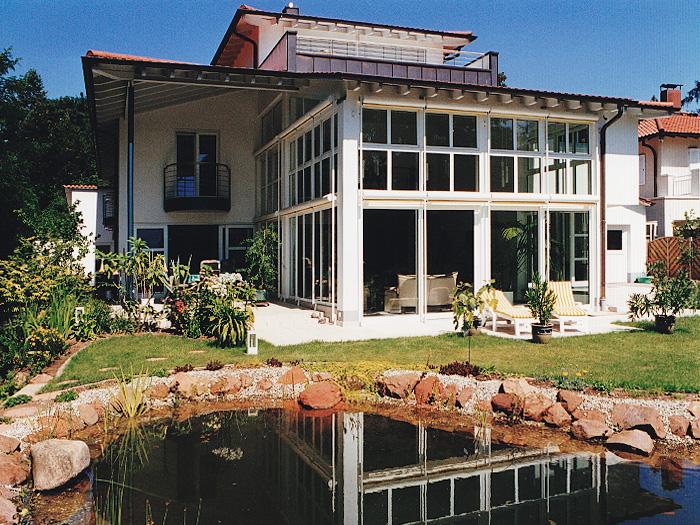 Einfamilienhaus artdecoarchitect for Architekt gastronomie