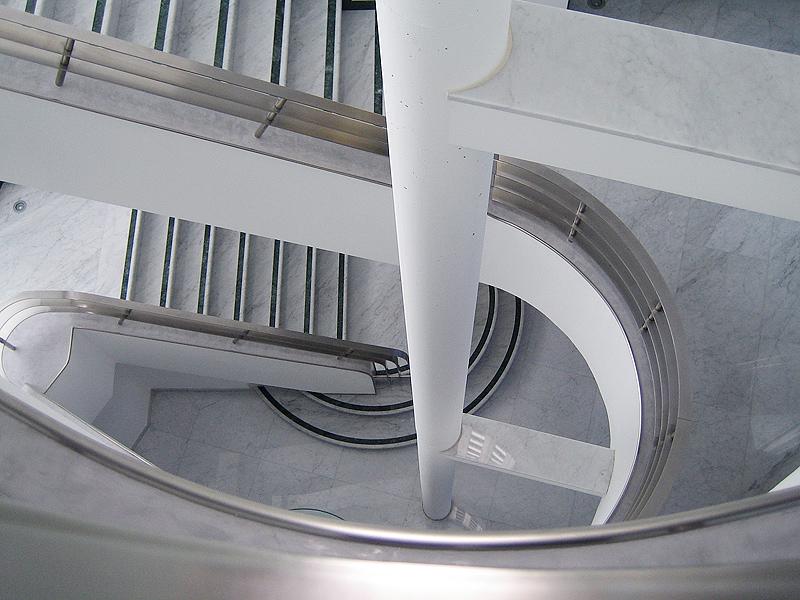 Art Deco Interior Design Treppenhaus Arch Lehmann 03